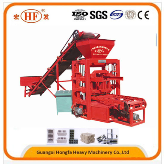 Qtj 4-26c Automatic Hollow Brick Solid Block Shaping Machine