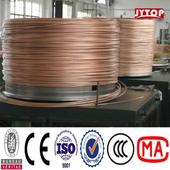 China 4/0 3/0 2/0 1/0 Bare Copper Cable Copper Clad Aluminum ...