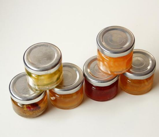 Clear 1oz Glass Honey Jars/Yogurt Glass Jar/Mini Glass Jar for Jam pictures & photos
