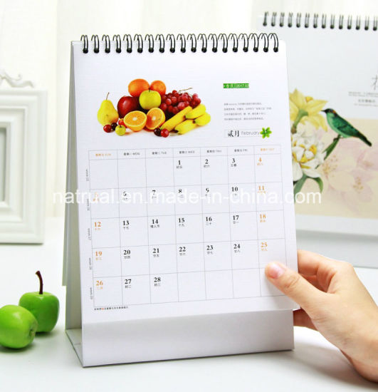 Customized Paper Printing Monthly Magnetic Calendar Planner pictures & photos