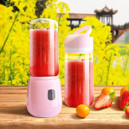 Portable Blender, Mini Blender Personal Smoothie Fruit Mixer Juicer Cup, Single Serve, Multifunctional Lightweight USB Rechargeable Travel Blender for Shakes an pictures & photos