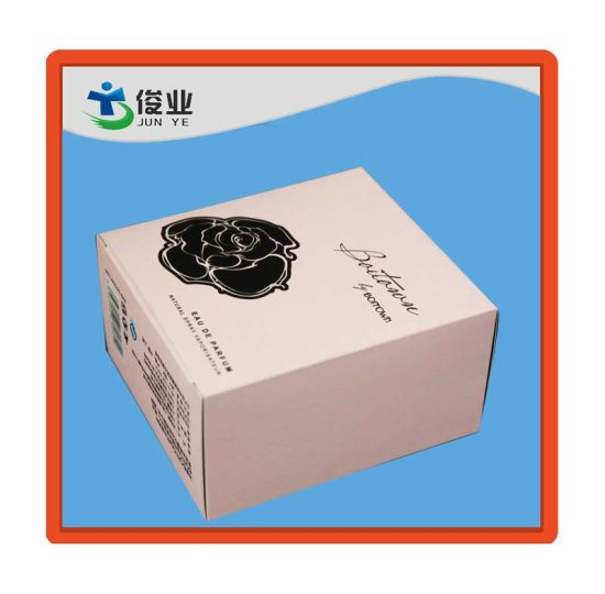 New Fashionable Color Printed Paper Rose Packaging Box