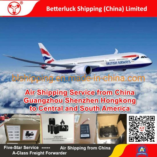 reliable Air Freight Battery from China to St. Lucia(UVF)Hewanorra Airport Latin America pictures & photos