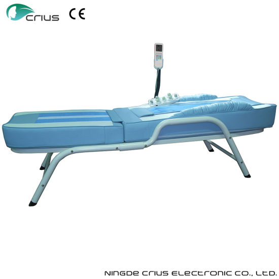 Electric Powerful Acupoint Jade Massage Bed