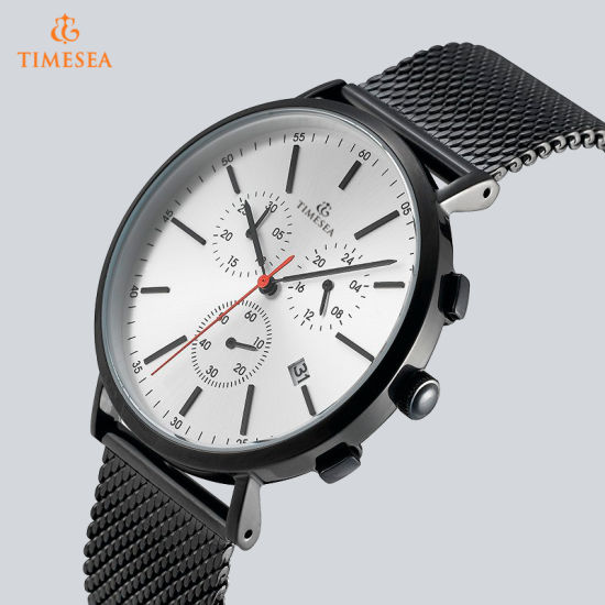 Timesea OEM Trend Design Stainless Steel Quartz Mens Watch 72861 pictures & photos