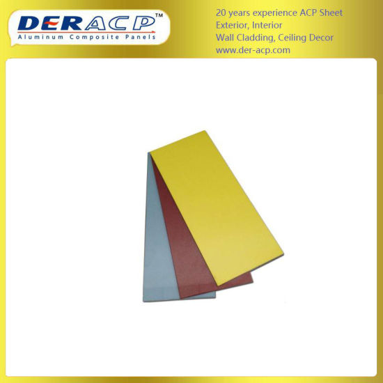 5mm/0.3mm Fireproof Aluminum Composite Panel for Exterior Wall Decoration