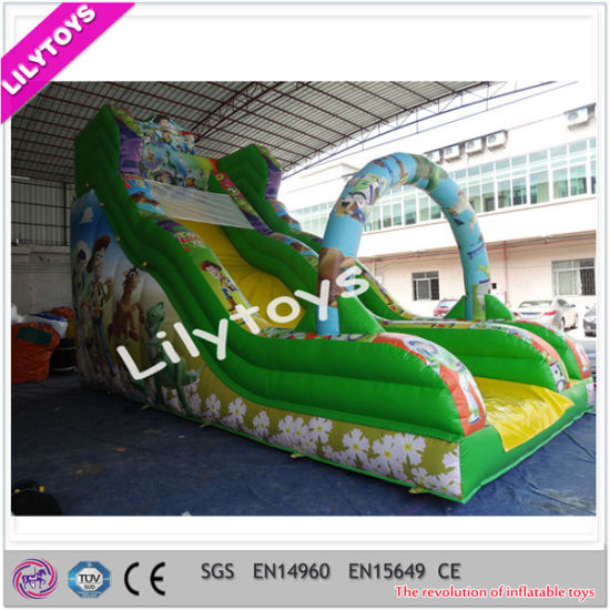 Popular Commercial Cheap Giant Inflatable Slide for Kids pictures & photos