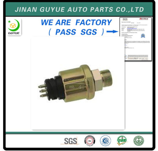 FAW HOWO Shacman Dongfeng Beiben Foton Truck Spare Oil Pressure Sensor