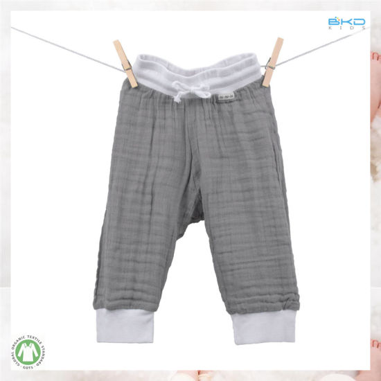 China Muslin Baby Clothes Plain Infant Short China Baby Clothes