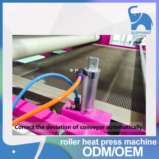 Factory Direct Sale Roller Heat Press Machine for Sublimation Transfer Roll and Piece pictures & photos