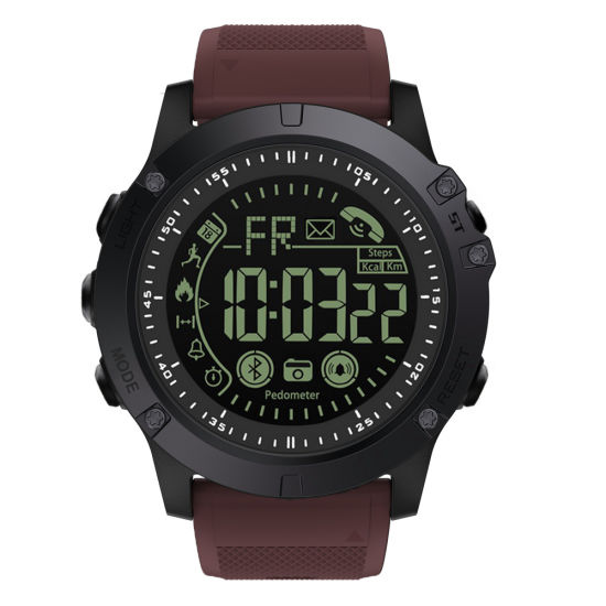 Sports IP68 Waterproof Men Smart Watch with Reminder Pedometer for Ios Android Phone, Bluetooth 4.2
