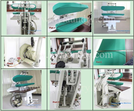 Laundry Equipment with Clamp Machine Series Steam Laundry Press Machine
