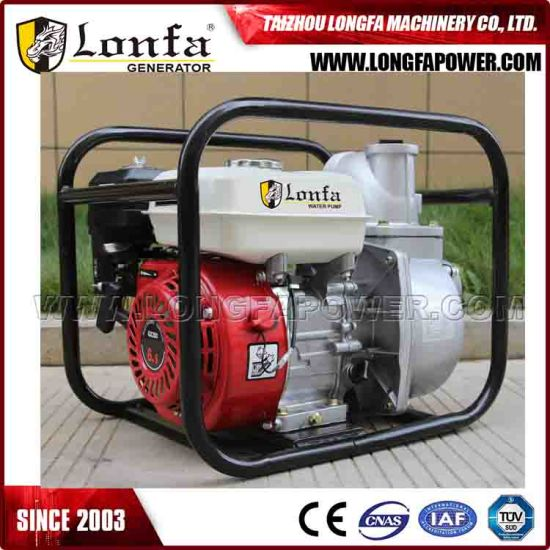 Portable 6 5HP 3 Inch Gas Powered Water Transfer Pump for Flood Irrigation