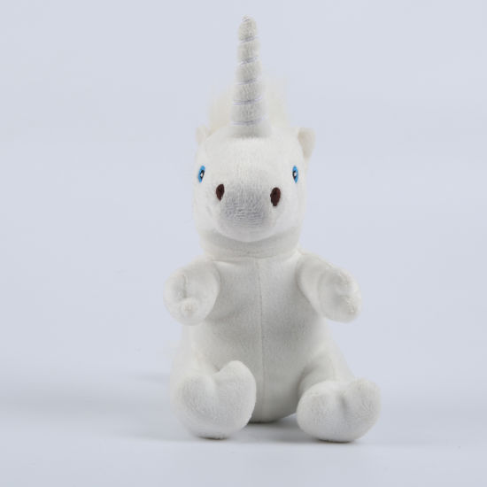 Cute Soft White Unicorn Plush Stuffed Animal Doll Toys pictures & photos