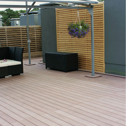 Barefoot Friendly Outdoor Wood Plastic Flooring pictures & photos
