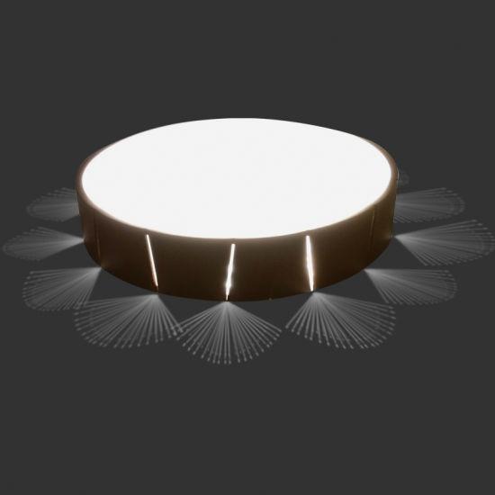 360 Degree Europe Popular Microwave LED Sensor Emergy Ceiling Light