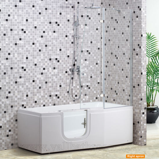 119bf The Elderly Jacuzzi Shower Screen Corner Massage Bathtub Walk In Tub