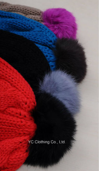 Organic Newly Winter Knit Beanie Cap pictures & photos