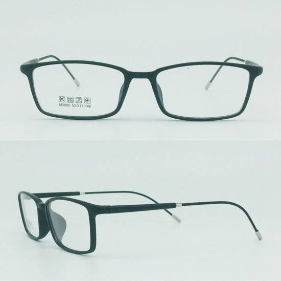 Factory Sell Super Light Half Plastic Steel Fashion New Optical Eyeglasses Eyewear Frames pictures & photos