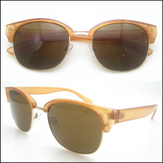 a75e551b67 China New Fashion Colorful Half Frame Sunglasses - China Clubmaster ...
