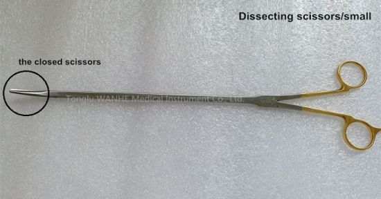Thoracoscopy Instruments Thoracotomy Instruments Dissecting Scissors pictures & photos