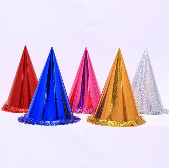 Colorful Foil Paper Game Hats pictures & photos