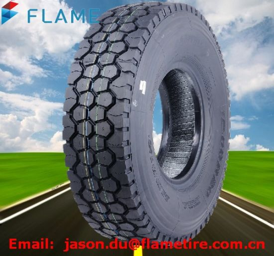 China Good Quality All Steel Radial 12r22.5 Truck Tyre pictures & photos