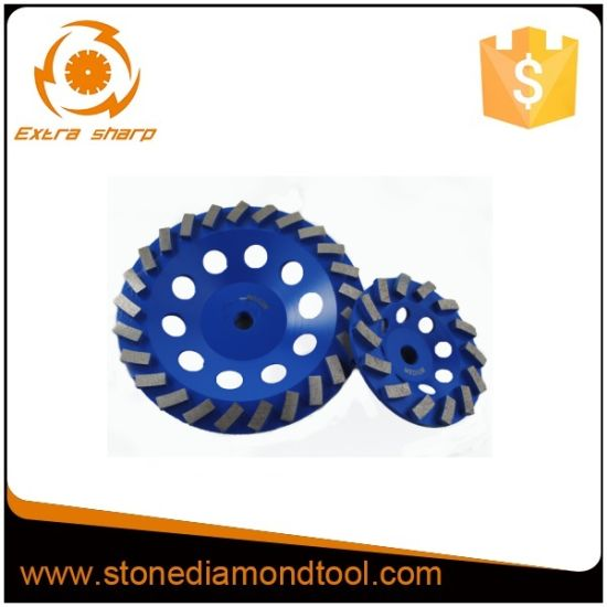 Double Row Concrete Grinding Disc Diamond Cup Wheel pictures & photos