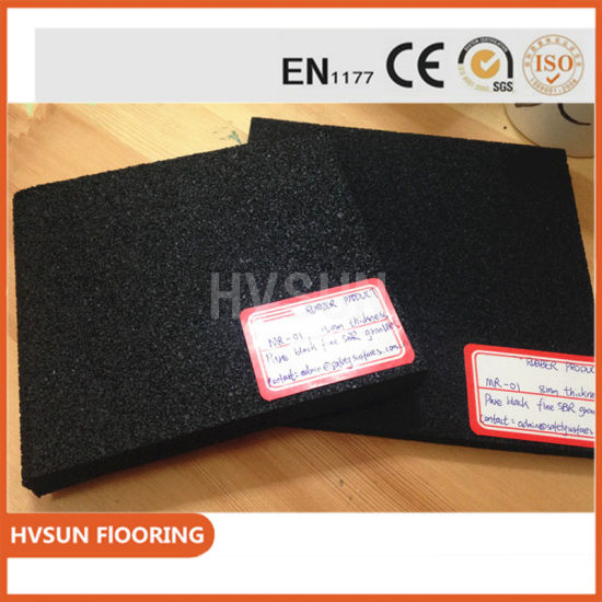 Colorful 10mm-50mm Rubber Flooring Tile. Clearance Rubber Flooring Outdoor