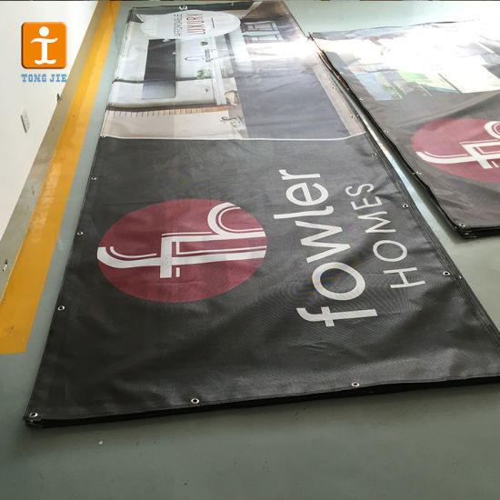 Custom Vinyl Printing Coated Mesh Banner pictures & photos