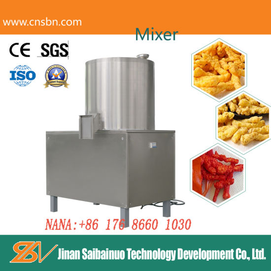 Ce Standard Full Automatic Corn Snacks Kurkure Manufacturing Machinery pictures & photos