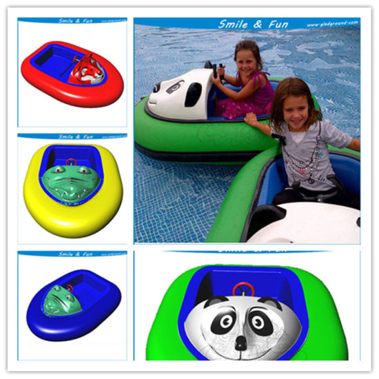 Inflatable Bumper Boat Powered for 1-2 Kids with FRP Body pictures & photos