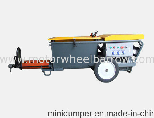 Motar Plastering Machine with Screw Pump pictures & photos