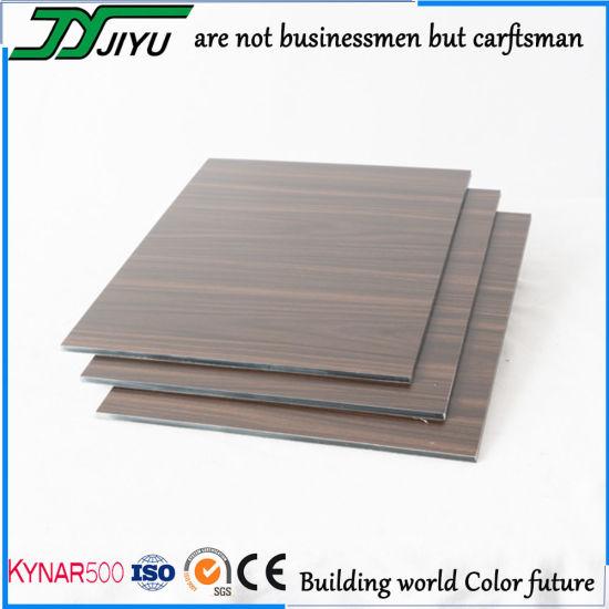 3mm 4mm 5mm Imitation Wood Grain Aluminum Composite Panel