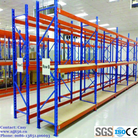 Hengtuo Warehouse Storage Heavy Duty Pallet Racking with Wire Decking pictures & photos