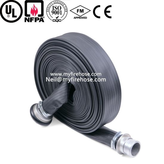 1 Inch Nitrile Rubber Durable Fire Canvas Hose, Flexible Fire Fighting Hose pictures & photos