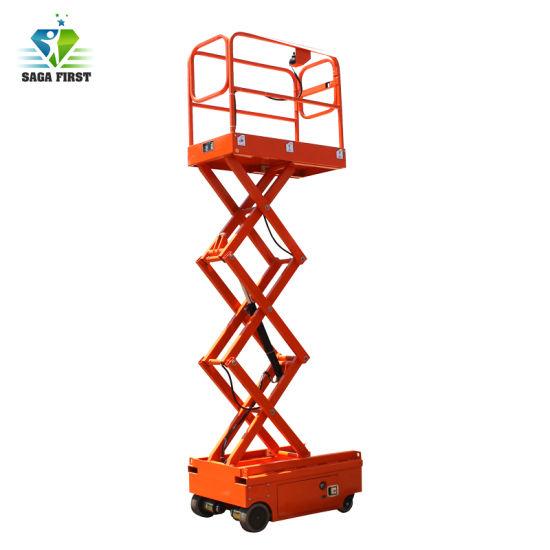 High Quality Ladder Lift Mobile Scissor Lift Platform with Ce