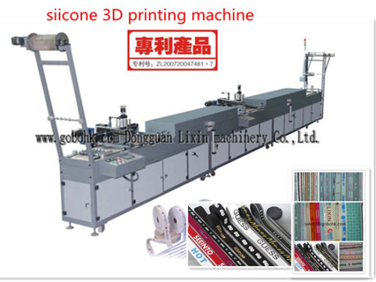 Silicone 3D Label Printing Machine pictures & photos