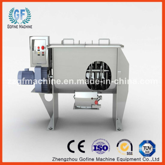 Ce Stainless Steel Powder, Feed, Chemical, Food Spiral Horizontal Ribbon  Mixer Machine / Blender Mixer
