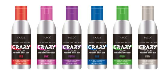 Tazol No Ammonia Semi-Permanent Hair Color 100ml pictures & photos
