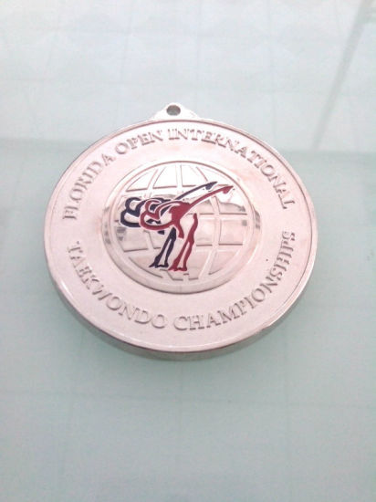 Silver Gold Plated Badge, Custom Competition Medal (GZHY-KA-007) pictures & photos