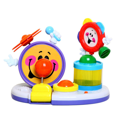 Novelty Kids Plastic Music Instrument Toy B/O Drum Toy (H4646025) pictures & photos