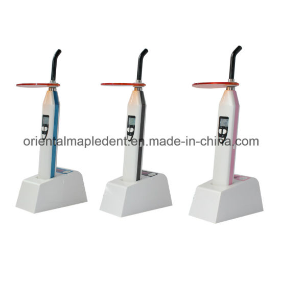 Dual Light Dental LED Curing Light with Light Meter (blue light; white light, Purple Light) pictures & photos