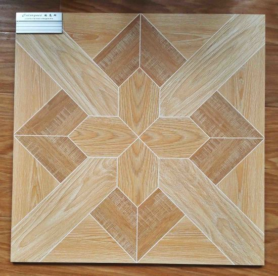 60 60cm Building Materials Rustic Floor Tile Glazed Home Decoration Tiles Ceramic Flooring Wood Matt Surface