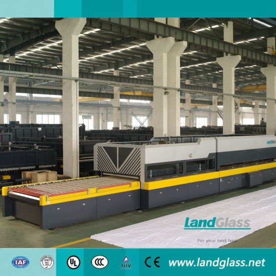Landglass Flat-Bending Glass Toughening Machine for Construction Glass pictures & photos