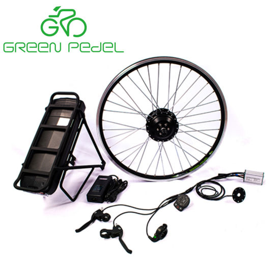 China 20 Inch Front Wheel Hub Motor 350 Watt Electric Bike