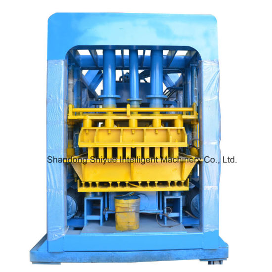 Qt12-15 Concrete Cement Automatic Hollow Bricks Machine pictures & photos