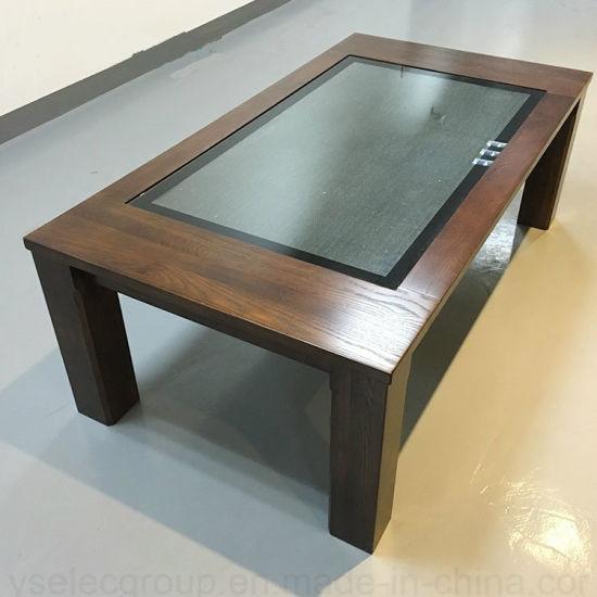 china yashi windows desk interactive multi touch screen coffee table