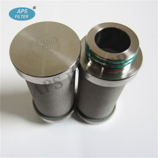 Oil Filter Cartridge (P-GS 04/20) with Stainless Steel Sintered Filter Material pictures & photos