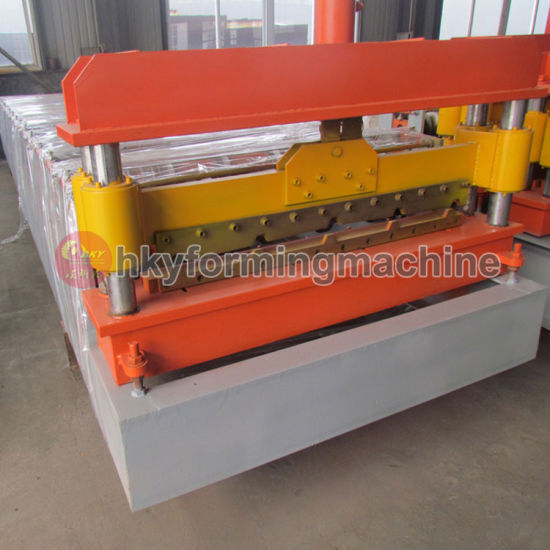 Aluminium Profile Panel Iron Sheet Making Roof Roll Forming Machine